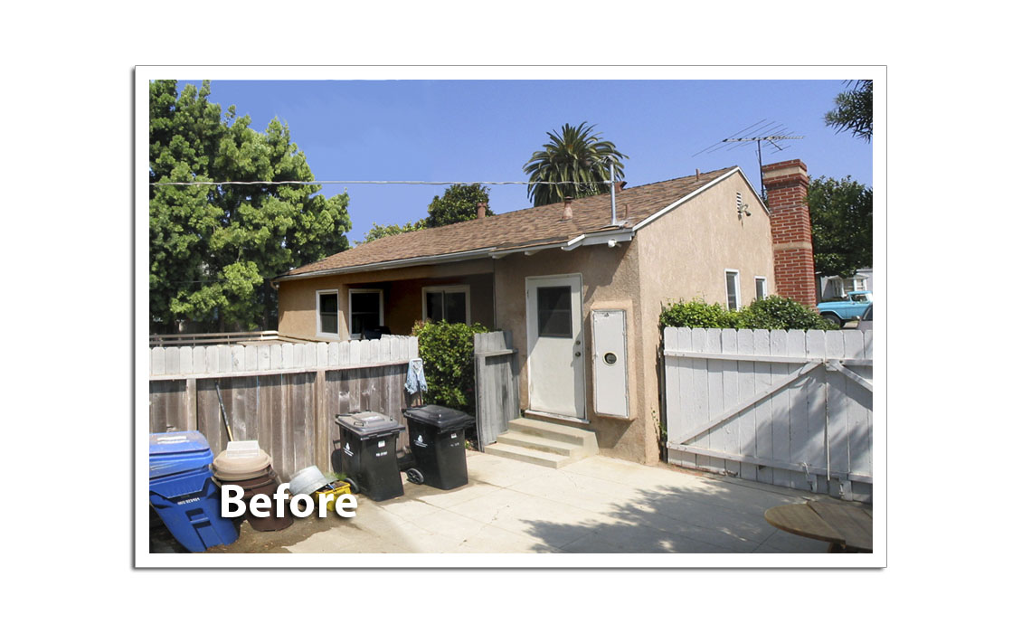 85th Street House - Los Angeles CA Before1