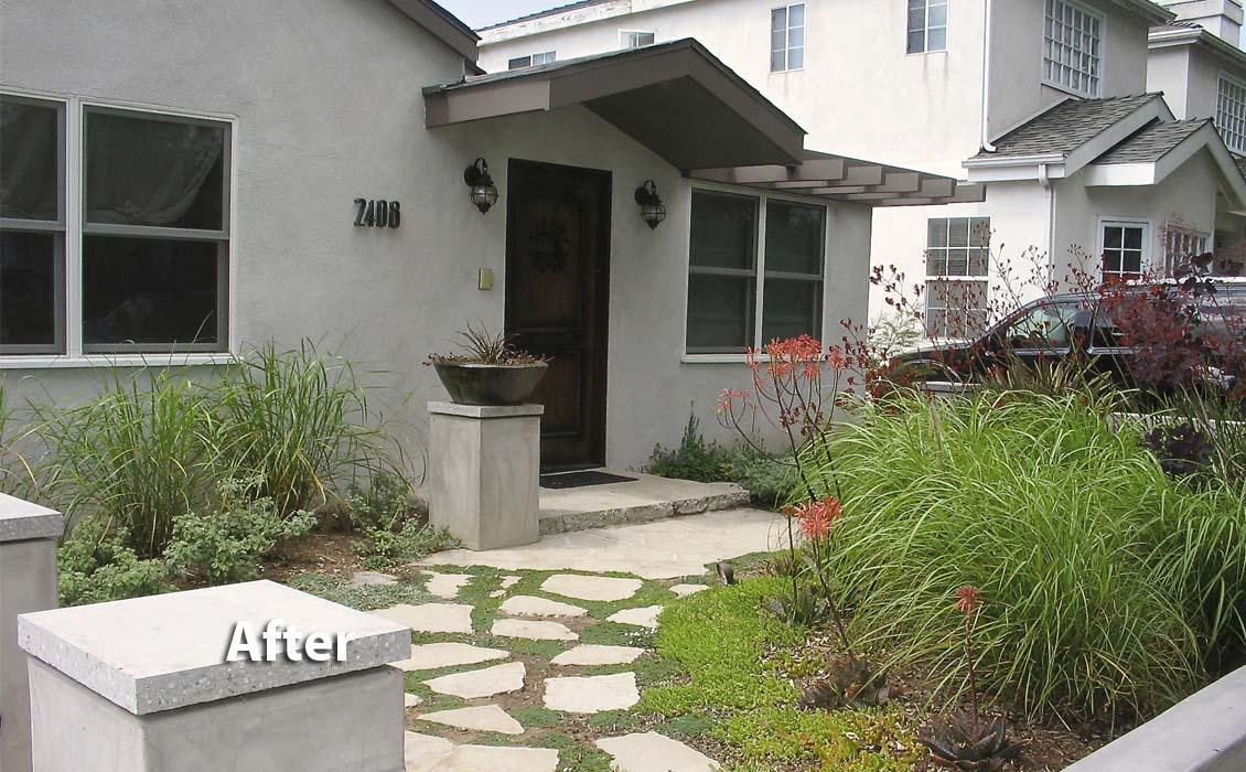 Cloverfield House & Landscape-Santa Monica CA 1a