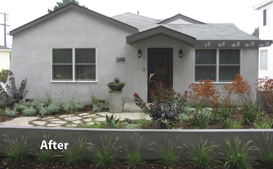 Cloverfield House & Landscape-Santa Monica CA 2a