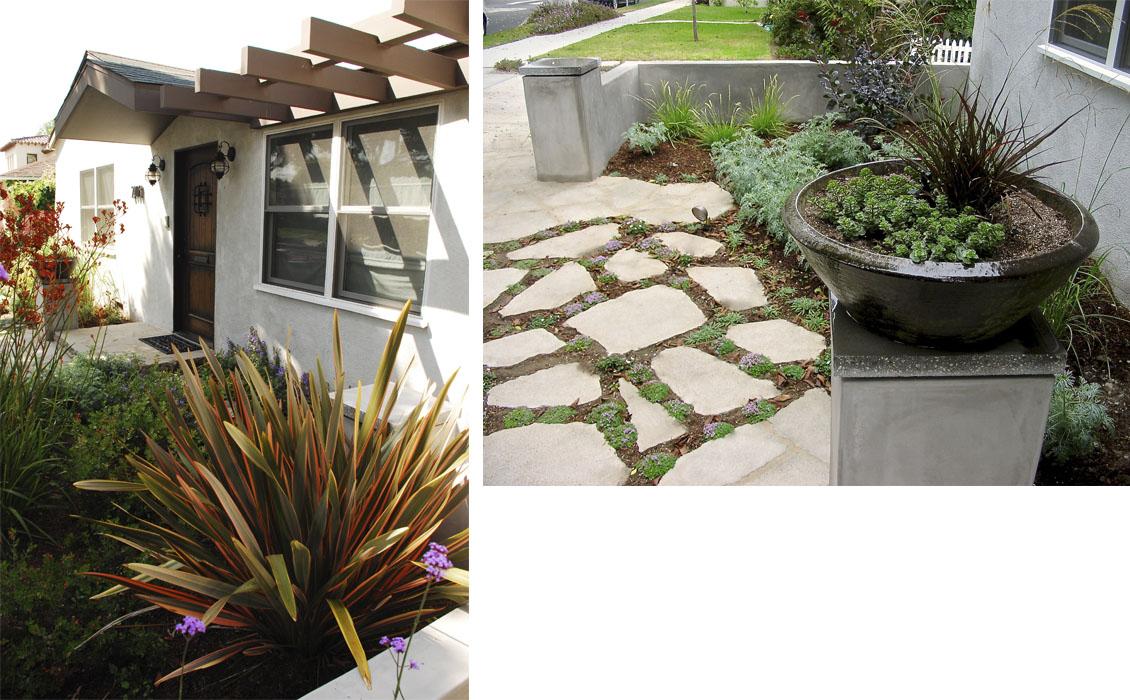 Cloverfield House & Landscape-Santa Monica CA 3