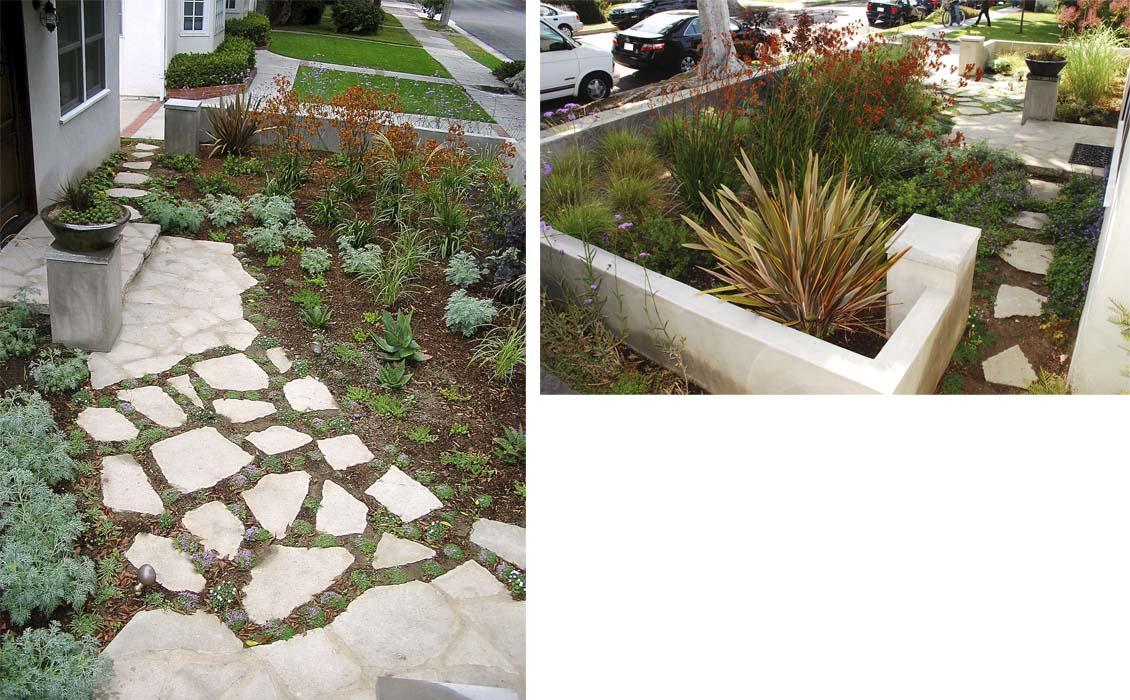 Cloverfield House & Landscape-Santa Monica CA 4a