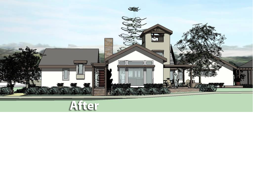 Lawrence Ranch House Concept-Danville CA 8